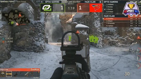 esports betting on Call of Duty