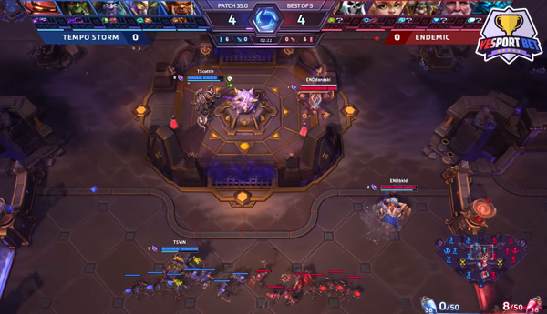 esports betting on Heroes of the Storm